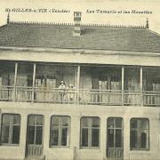 Saint-Gilles-sur-Vie, villa Les Mouettes et Les Tamaris.