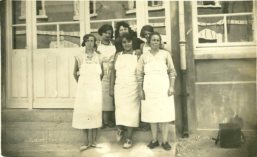 Saint-Gilles-sur-Vie, personnel de la colonie Longpré.