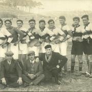 Saint-Gilles-Croix-de-Vie, équipe de football Océan-sport, année 1925.