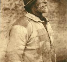 Saint-Gilles-Croix-de-Vie, un vieux marin.