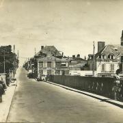 Saint-Gilles-sur-Vie, le pont.