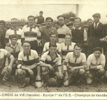 Saint-Gilles-Croix-de-Vie, football, Océan-sport, année 1934-1935.