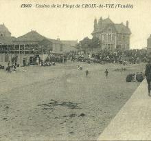 Croix-de-Vie, le casino de la plage.