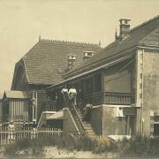 Saint-Gilles-sur-Vie, villa Les Tamaris côté plage.