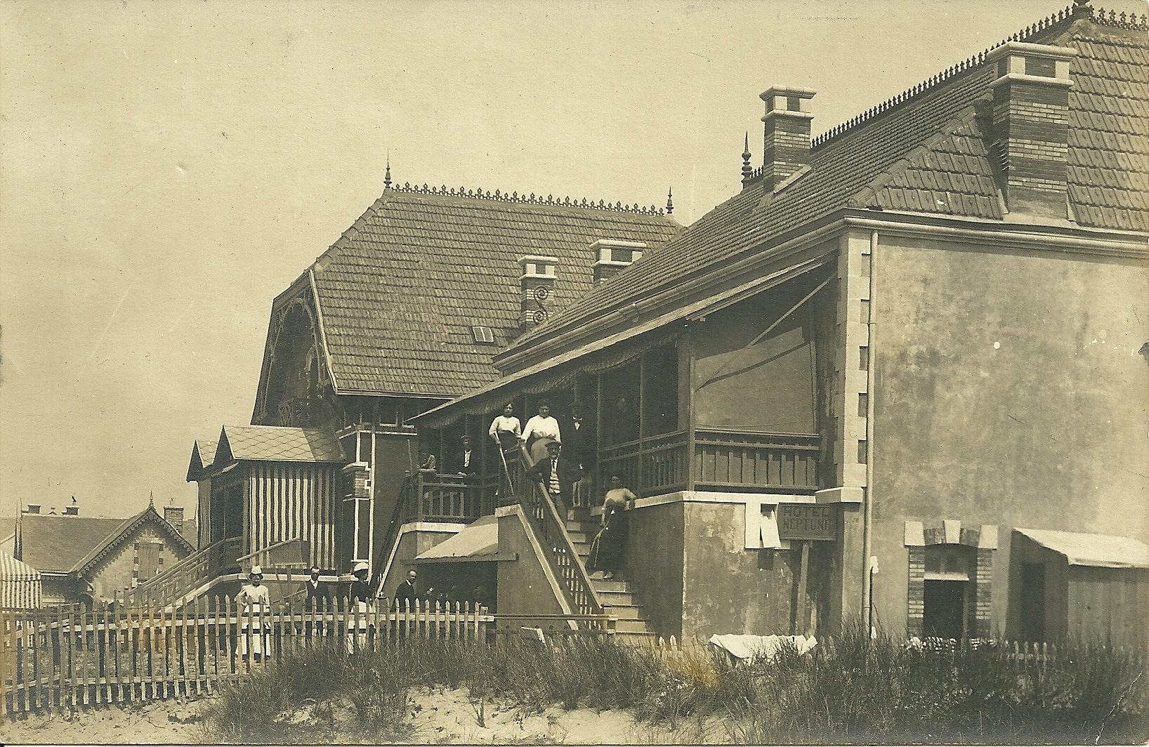 Saint-Gilles-sur-Vie arrière côté plage villa Les Tamraris