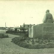St-Gilles-sur-Vie, le square du souvenir.