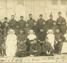 Saint-Gilles-sur-Vie, les blessés de 14/18.