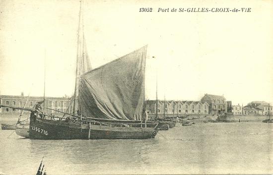 Le port de St-Gilles-Croix-de-Vie.