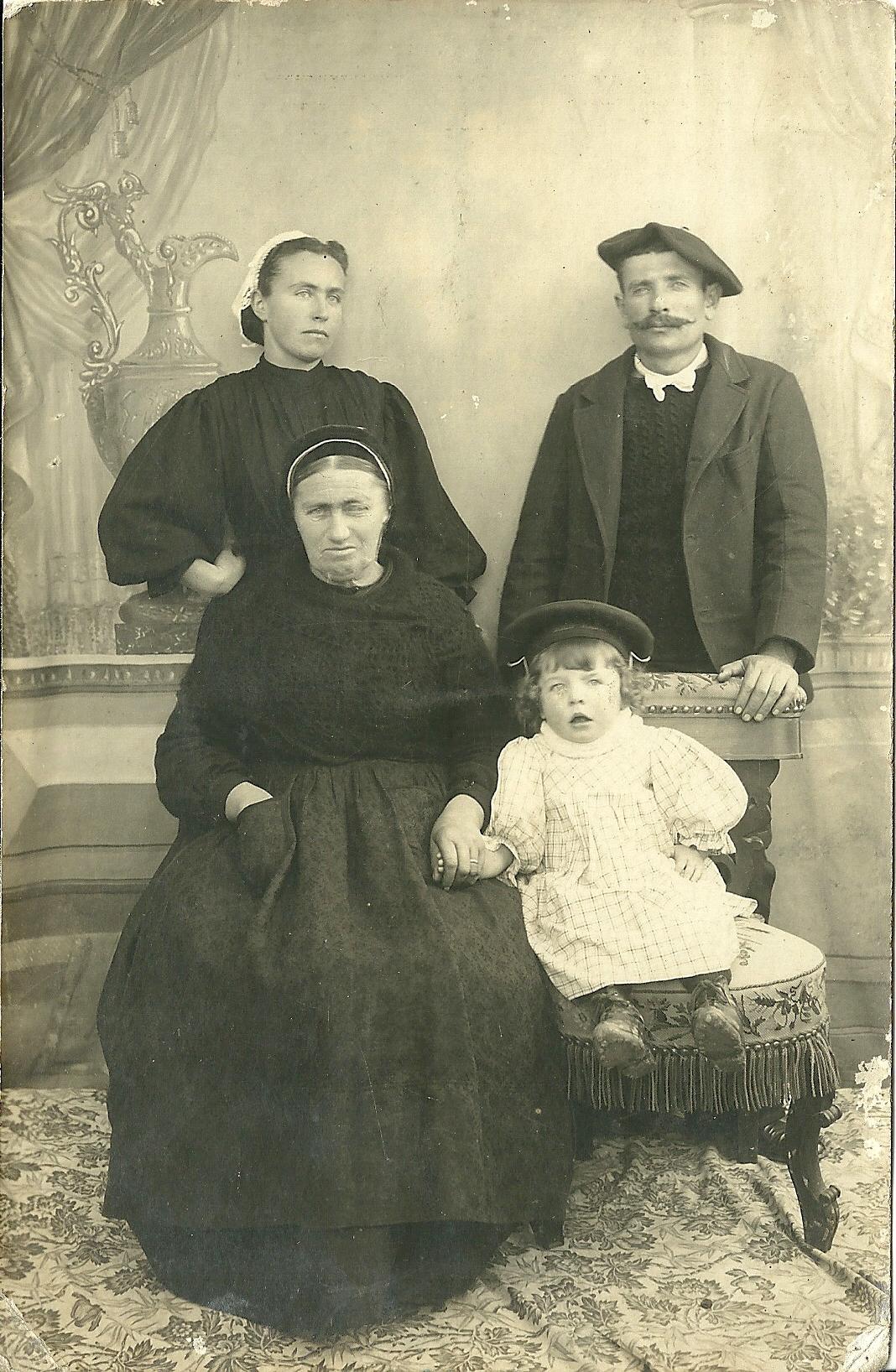 Croix-de-Vie, photo de famille
