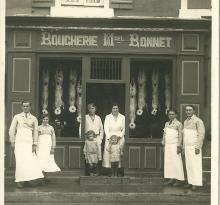 Saint-Gilles-sur-Vie, boucherie Bonnet.