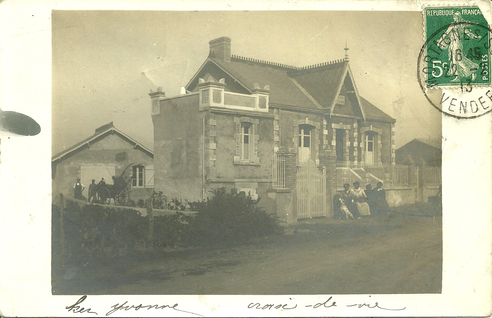 Croix-de-Vie, villa Ker Yvonne.