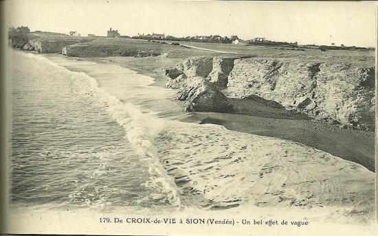 De Croix-de-Vie à Sion, un bel effet de vague.