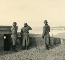 Occupation allemande plage de St-Gilles-sur-Vie.