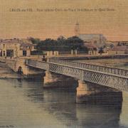 St-Gilles-sur-Vie, le pont reliant St-Gilles à Croix-de-Vie.