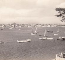St-Gilles-Croix-de-Vie, l'arrière-port.