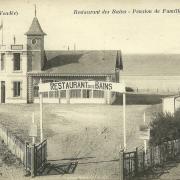 St-Gilles-sur-Vie, restaurant Les Bains.