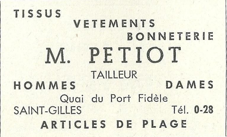 Tailleur Mr Petiot