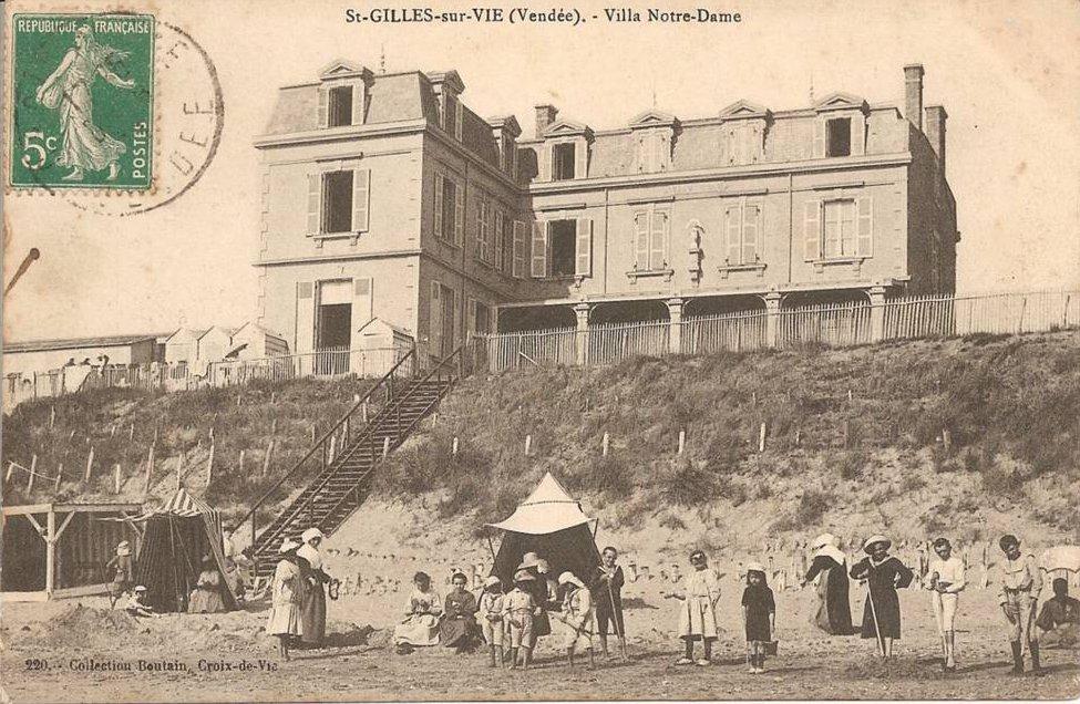 Villa Notre Dame  St Gilles Croix De Vie