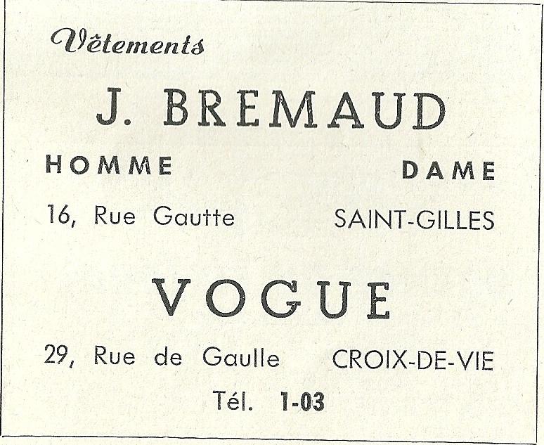 Vogue J. Brémaud